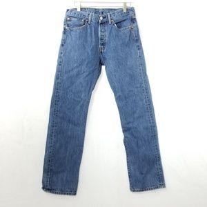 Levi Strauss Mens Blue Denim Jean's 31x32